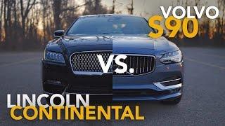 Download 2017 Lincoln Continental vs. 2017 Volvo S90 Comparison Review Video