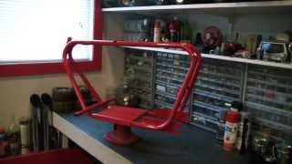 Download Vintage mini bike restoration project start. Video