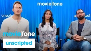 Download 'Guardians of the Galaxy' | Unscripted | Chris Pratt, Zoe Saldana, Dave Bautista Video