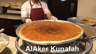 Download Best Kunafa in Doha (Alaker) | Arabic Sweets Video