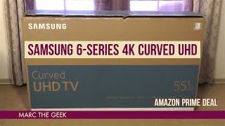 Download Samsung 6-Series 4K 55″ Curved UHD ($649 Amazon Prime Deal) Video