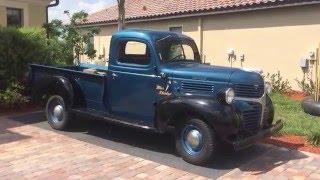 Download 1947 Dodge WD-15 Pickup Video