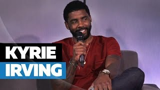 Download Kyrie Irving Opens Up On LeBron James, Kehlani, Leaving Cleveland & Uncle Drew Video