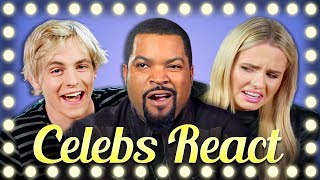 Download CELEBS REACT TO BEANBOOZLED CHALLENGE COMPILATION Video