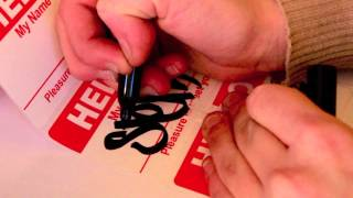 Download ″Hello My Name Is″-Sticker Unboxing Video