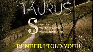 Download TAURUS ″I TOLD YOU!″ NOVEMBER 18TH 2019 TAROT READING Video