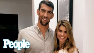 Download Why Was Michael Phelps At Lori Loughlin's House? | People NOW | People Video