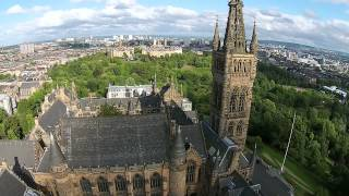 Download University of Glasgow from the Air Video