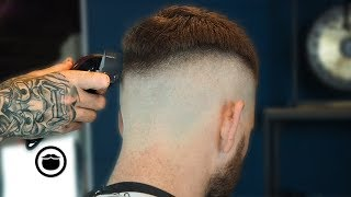 Download Textured French Crop Skin Fade Tutorial by Jake the Barber | Beardbrand Studio Video