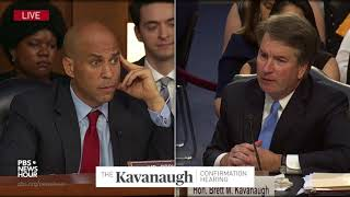 Download Sen. Booker asks Kavanaugh his opinion on gay marriage and LGBT rights Video