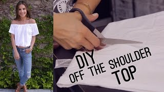 Download DIY Off The Shoulder Bardot Top (STYLEWIRE) Video