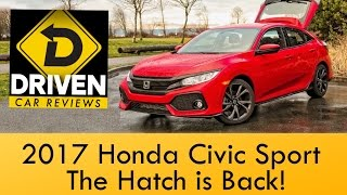 Download 2017 Honda Civic Hatchback Sport Car Review Video