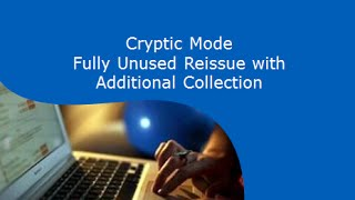 Download Fully Unused Reissue with ADC - Cryptic Mode Video