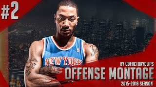 Download Derrick Rose Offense Highlights 2015/2016 (Part 2) - Welcome to NY Knicks! Video