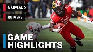 Download Highlights: Rutgers Scarlet Knights vs. Maryland Terrapins | Big Ten Football Video