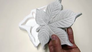 Download Liście gipsowe ( Plaster leaf casting ) Video