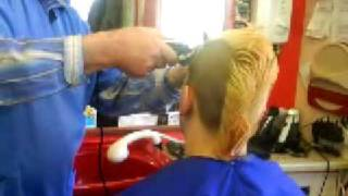 Download my mohawk cut =] Video