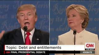 Download Question on Social Security and Medicare at Third Presidential Debate Video