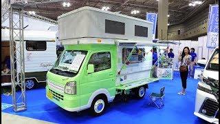 Download 초소형 마이크로 트럭 캠핑카! 4명이 생활 할 수 있는 초소형 캠핑카라구요?! Video