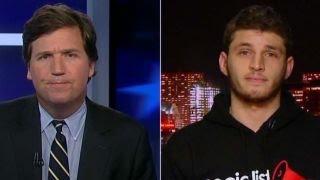 Download Tucker versus socialist college student Video