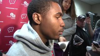 Download Badgers' Sojourn Shelton says being in Big Ten title game 'the standard' Video