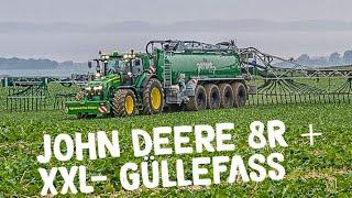 Download JOHN DEERE 8370R | Kotte Garant PQ 32.000 im Einsatz | Produktvideo | AgrartechnikHD Video