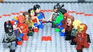 Download Lego Superhero Champion Ironman vs Batman Final Episode Video