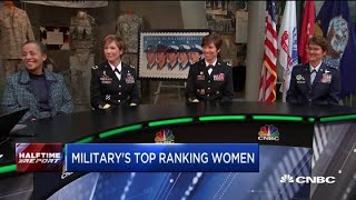 Download Meet some of the highest-ranking women in US military history Video