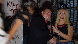 Download GIRLFRIEND GETTING SCARED FOR 15 MINS STRAIGHT (HAUNTED JAIL) Video