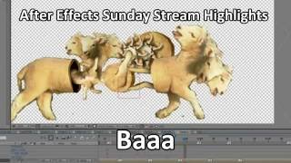 Download After Effects Sunday Stream Highlights: Baaa Video