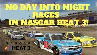 Download NO DAY INTO NIGHT RACES IN NASCAR HEAT 3!! Video