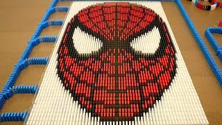 Download Spider-Man in 10,000 Dominoes! Video
