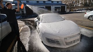 Download WRAPPING MY AUDI R8!! Video
