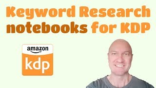 Download Keyword or Niche Research on Amazon for Notebooks and Low Content Books Video