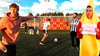 Download *GIANT* CHRISTMAS FORFEIT FOOTBALL CHALLENGE Video