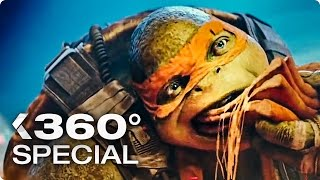 Download TEENAGE MUTANT NINJA TURTLES 2: 360° Pizza Scene (2016) Video