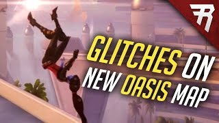 Download Overwatch new map Oasis: Glitches & Car interactions (PTR) Video