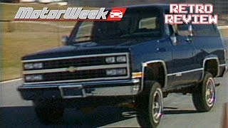 Download Retro Review: 1989 Chevrolet Blazer Video