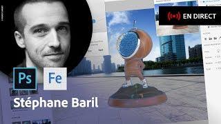 Download La 3D pour les designers dans le Creative Cloud | Masterclass avec Stéphane Baril | Adobe France Video