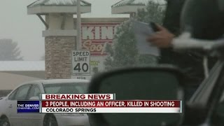 Download 3 killed, including officer, in Colorado Springs Planned Parenthood shooting Video