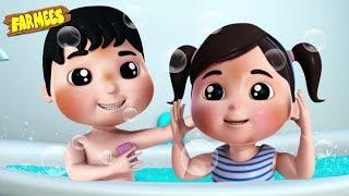 Download Bath Song | Baby Songs & Nursery Rhymes by Farmees Video
