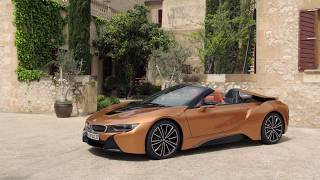 Download BMW i8 Roadster scene1 hd Video