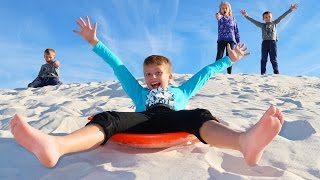 Download SAND SLEDDING!! Video