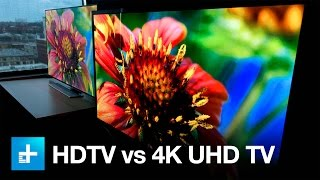Download 4K UHD TV vs. 1080p HDTV - Side by Side Comparison Video