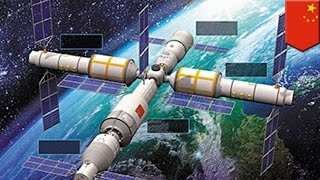 Download Live: China launches Tiangong-2 space lab Video