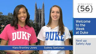 Download New Safety App; Women's Health in Haiti: The Week at Duke {in 60 Seconds} Video