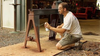 Download Diamond in the Rough! Restoring an Antique Wood Lathe Video
