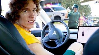 Download Speeding In Front Of Cops! Video