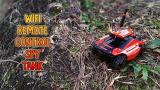 Download SUPERB WIFI Remote Control (RC) Spy Tank from RCMOMENT Video