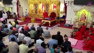 Download Acharya Swamishree Maharaj's Divine Ashirwad in London - 21st June 2018 Video